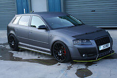 audi a3  front bumper blade splitter will fit most models new bodykits
