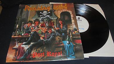 RUNNING WILD – Port Royal 1st press lp vinyl TEST pressing 1988 NOISE archive
