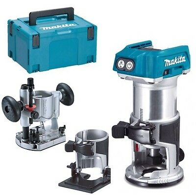Makita Router Trimmer Cordless 18v DRT50Z Kit DRT50ZJX2 In stock