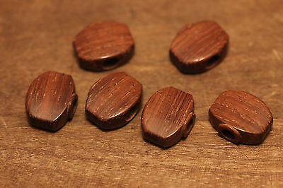Tuner Buttons Madagascar Rosewood by Hailwood Guitars fits Sperzel #6 Tuners