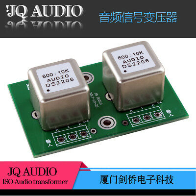 600:10K Permalloy audioTransformer Audio signal isolation board