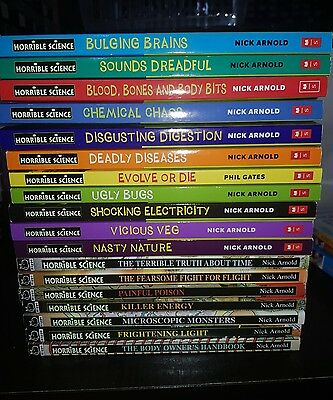 Horrible Science Collection of 19 Children's Books. Excellent condition.