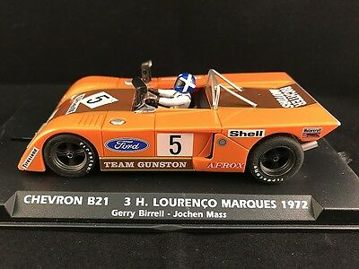 024101 Flyslot Chevron B21 Lourenco Marques 1972 Slot Car 1:32 Scale