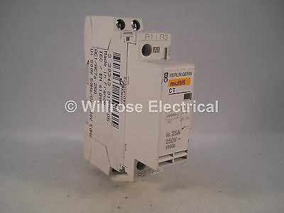 Merlin Gerin Contactor 25 Amp 2 Pole 230V Coil Normally Closed 25A CT 15960