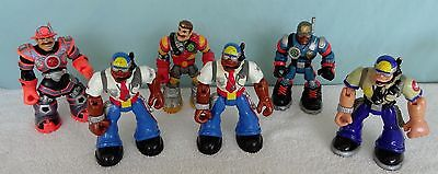 RESCUE HEROES Action Figures Lot Of 6