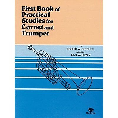 First Book of Practical Studies for Cornet and Trumpet Getchell, Robert W./ Hove