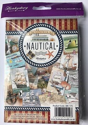 Hunkydory Crafts The Little Book Of Nautical New/Sealed