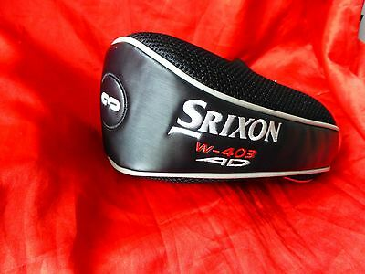 GOLF HEAD COVER ONLY. 'SRIXON' No3.  W-403 AD. AS SEEN