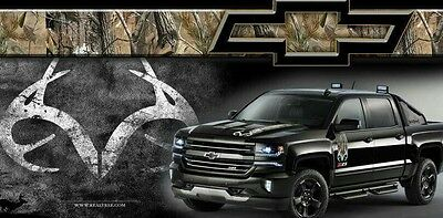 Chevrolet Chevy Silverado Truck Realtree Camouflage 4x4 Offroad Z71 Banner Sign