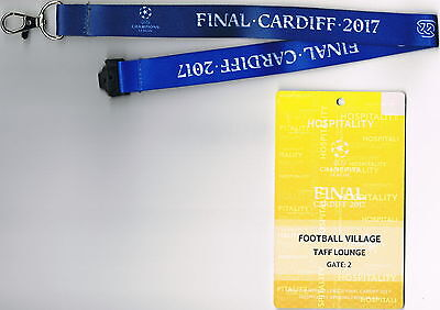 Ticket VIP-Pass Taff Lounge Juventus FC - Real Madrid CF UEFA CL Finale 2017