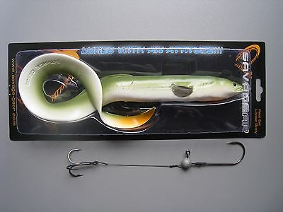 Savage Gear Real Eel 40 cm 147g+9g  1 Real Eel+ 1 Jigkopf+ 1 Stinger  Savagegear