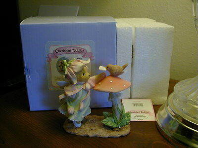 """Cherished Teddies Emmaline """"So Mush-Room In My Heart For You"""" fairy posting ltr"""