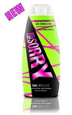 Brand New Devoted Creations ED HARDY EH SORRY, NOT SORRY 10 oz Tanning lotion