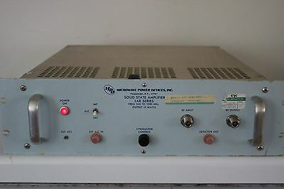 MPD LAB3 510-10F Microwave Power Devices Solid State Amplifier LAB3510-10F