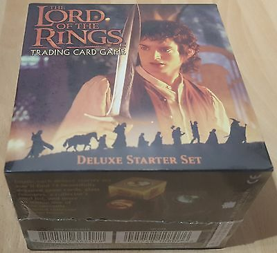 Lord of the Rings LOTR Trading Card Game - Deluxe Starter Set - New & Sealed