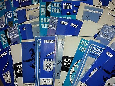 Huddersfield Town HOME programmes 1960s 1970s L - Y