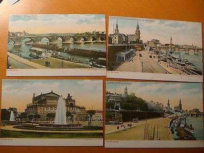 Dresden Germany.Lot of 10 early 1900's postcards.