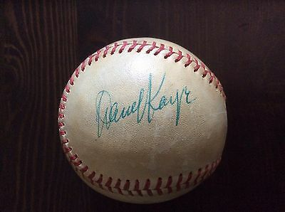 DANNY KAYE Actor Singer Musician Single Signed Baseball SGC Authentic