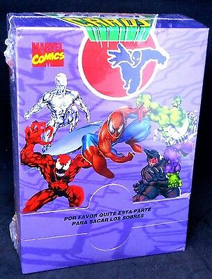 Marvel Comics Pepsi Cards Complete Factory Sealed Box