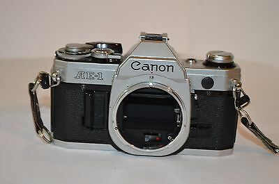 Vintage Canon Ae-1 Camera Body Only