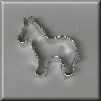 """3.75"""" Donkey Metal Cookie Cutter #nc6026"""