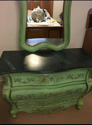 Pulaski Painted French Dresser/Accent Chest with Mirror, beautiful