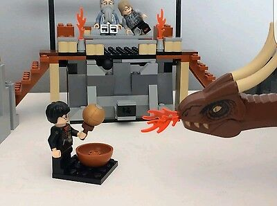 Lego 4767 Harry Potter HARRY AND THE HUNGARIAN HORNTAIL Mad Eye Moody Minifigure