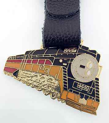 Railroad Train Watch Fob Excellent Condition