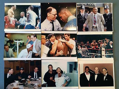 VINTAGE MIKE TYSON 8 x 10 ORIGINAL BOXING FIGHT PHOTOS- LOT OF 9 - GREAT PRICE!!