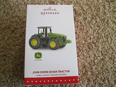 2015 Hallmark Ornament - John Deere 8345R Tractor - New in Box - Die-Cast Metal