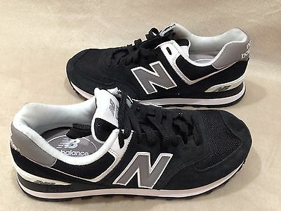 info for 26a21 dabd9 NEW BALANCE 574 CORE MEN'S ATHLETIC SNEAKERS SUEDE BLACK M574SKW Size 8