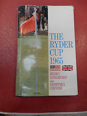 RYDER CUP  1965  1ST edition  ! SOUTHPORT  GOLF CLUB  GOLFER  GIFT SOLUTION !