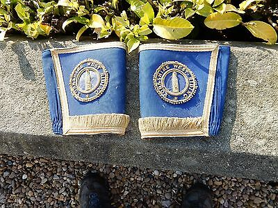 Cuffs  Georgian Look Masonic Theatre Stage  West Riding As Seen In Photos Gilt !