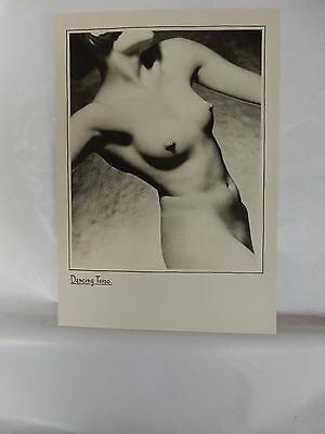 Boudoir Salon 1940s 50s  Decor Vintage print from photographers studio  Nude g