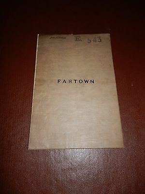 Fartown Huddersfield  Early Electoral Map ? Detailed Large Unfolded