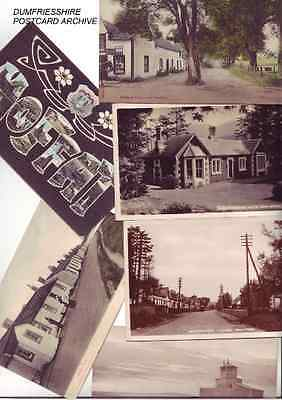 Dumfriesshire Dumfries shire ARCHIVE Vintage Postcards over 2750 original postca
