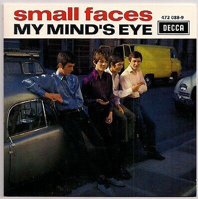 """60's MOD 7"""" FRENCH EP SMALL FACES MY MINDS EYE DECCA REISSUE"""