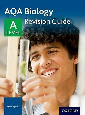 AQA A Level Biology Revision Guide by David Applin New Paperback Book