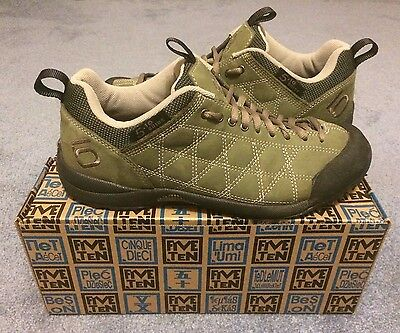 Five Ten Men's Guide Tennie Approach Shoes Green Size 8.5 / 41.5 - Worn Twice