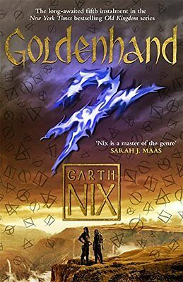 Goldenhand: The latest thrilling adventure in th by Garth Nix New Paperback Book
