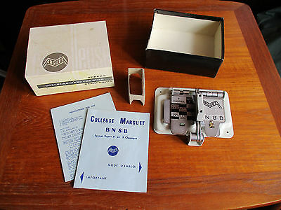 Colleuse Marguet BN8B. Standard and Super 8 film splicer in original box.