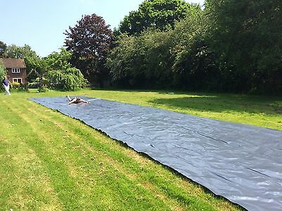 Water Slide - 12m Extra Wide Giant Runway Garden Slide. 12x4m.