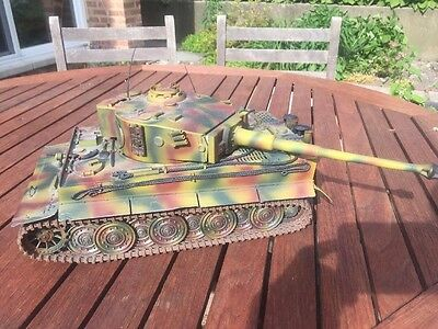 21st Century Toys Ultimate Soldier 1:18 WWII Tiger Tank - Plastic