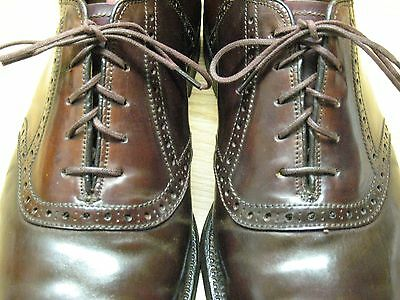 Vintage ALDEN Shell Cordovan Dress Shoes - Men's Size 7.5