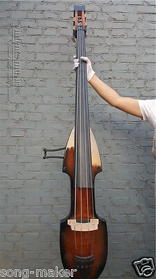 New 3/4 Electric Upright Double Bass good Finish Silent Greate Sound Solid wood