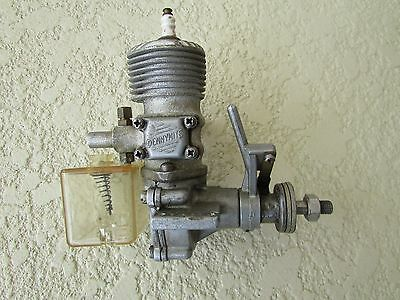 Dennymite .60 ignition gas engine with tank and timer plug good compression VG