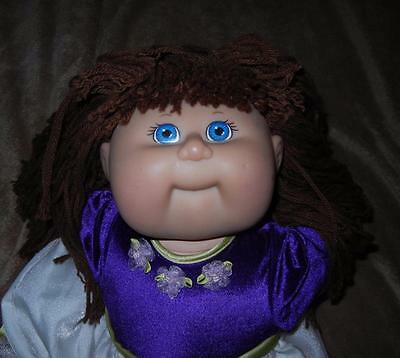 """Cabbage Patch 20"""" TRU Kids Girl Doll 1st Ed 2001 Babyland General Brown Hair"""