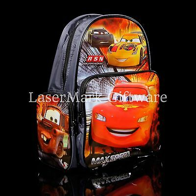 Brand new kids toddlers Cars backpack school bag Free Shipping