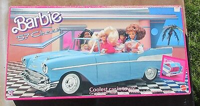 Vintage '57 Chevy 1989 Mattel Barbie / NEW In Factory Sealed Box ~ Never Opened!