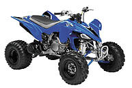 NewRay Die-Cast 1:12 Scale ATV YFZ450 Blue 2008